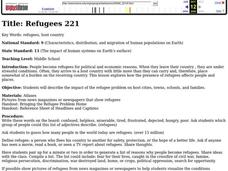 Refugees Lesson Plan