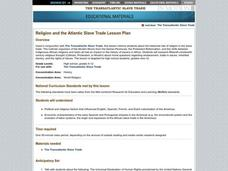 Religion and the Atlantic Slave Trade Lesson Plan
