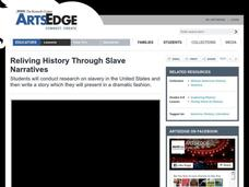 Reliving History Through Slave Narratives Lesson Plan