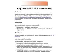 Replacement and Probability Lesson Plan
