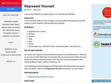 Represent Yourself Lesson Plan