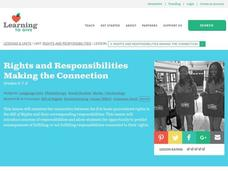 Rights and Responsibilities: Making the Connection Lesson Plan