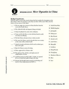 chinese dynasties lesson plans worksheets reviewed by teachers. Black Bedroom Furniture Sets. Home Design Ideas