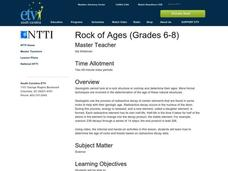 Rock of Ages Lesson Plan