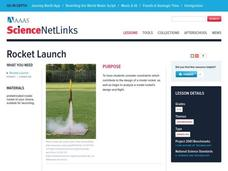 Rocket Launch Lesson Plan