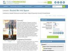 Rocket Me into Space Lesson Plan