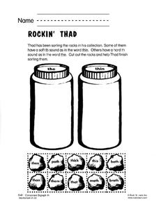 Rockin' Thad Worksheet