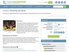 Rocking the Boat Lesson Plan
