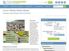 Rocks, Rocks, Rocks Lesson Plan