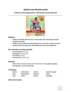 Rolling Along Lesson Plan