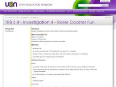 Roller Coaster Fun Lesson Plan