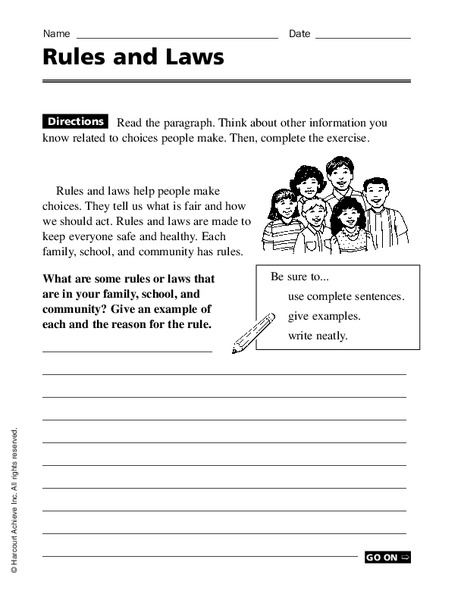 all worksheets rules and laws worksheets printable worksheets guide for children and parents. Black Bedroom Furniture Sets. Home Design Ideas