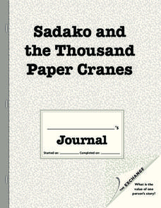 sadako and the thousand paper cranes activities Text complexity: lexile level: 690l atos reading level: 41 submit your own  qualitative measurements for sadako and the thousand paper cranes.