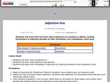 Adjective Fun Lesson Plan