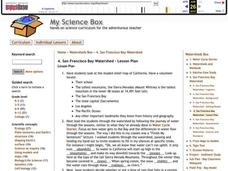 San Francisco Bay Watershed Lesson Plan
