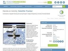 Satellite Tracker Lesson Plan