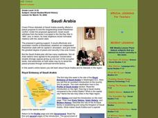 Saudi Arabia Lesson Plan