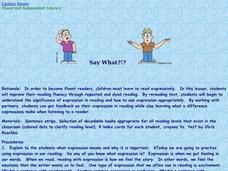 Say What? Lesson Plan