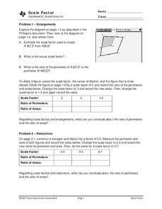 Scale Factor Lesson Plan