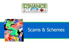 Scams and Schemes Presentation
