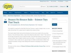 Science of Bouncing Balls Video