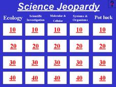 Science Jeopardy Presentation