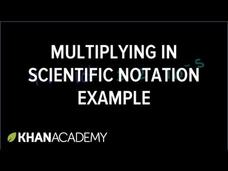 Scientific Notation 2 Video