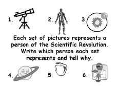 Scientific Revolution Lesson Plan