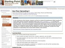Sea Floor Spreading I Lesson Plan