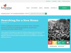 Searching for a New Home Lesson Plan