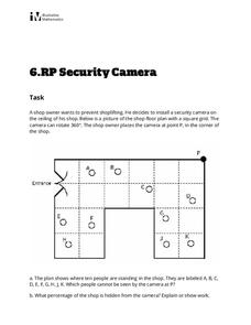 Security Camera Activities & Project