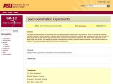 Seed Germination Experiments Lesson Plan