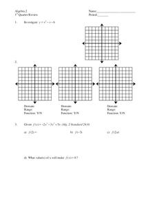 Sequences Worksheet