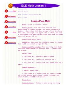 Sets of Two Lesson Plan