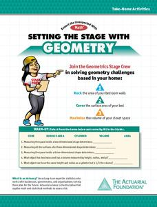 Setting the Stage With Geometry Worksheet