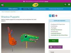 Shadow Puppets Lesson Plan