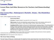 Shakespeare's Macbeth Lesson Plan