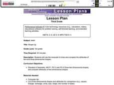 SHAPE UP Lesson Plan