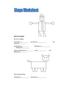 Shape Worksheet Worksheet