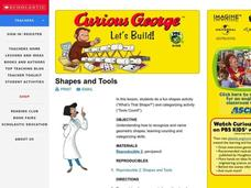 Shapes and Tools Lesson Plan