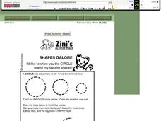 Shapes Galore Worksheet
