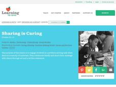 Sharing is Caring Lesson Plan