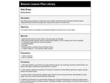 Ship Shape Lesson Plan