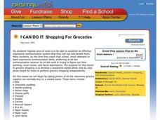 Shopping For Groceries Lesson Plan