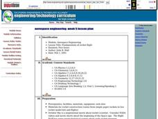 Aerospace Engineering Lesson Plan