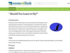 Should You Learn to Fly? Lesson Plan