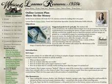 Show Me the Money Lesson Plan