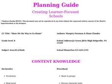 Show Me the Way to Go Home Lesson Plan