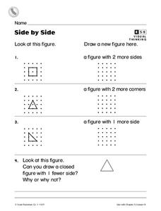 Side by Side Worksheet