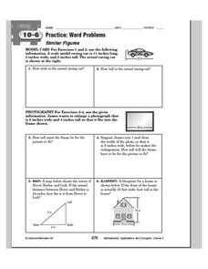 Similar Figures Worksheet